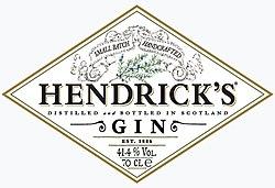 Hendrick\'s Gin.