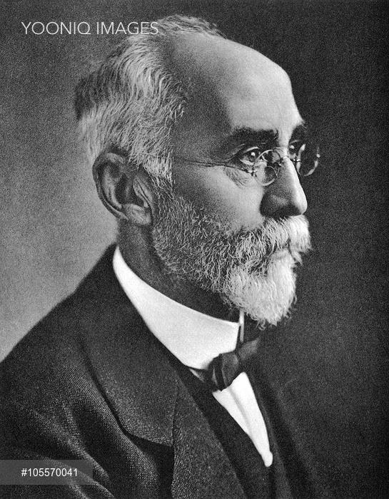 Hendrik Lorentz, Dutch physicist.