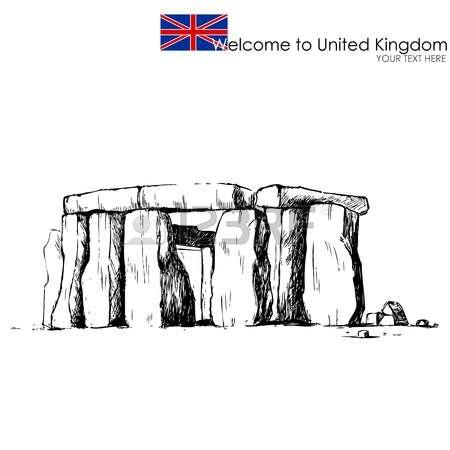 598 Stonehenge Stock Vector Illustration And Royalty Free.