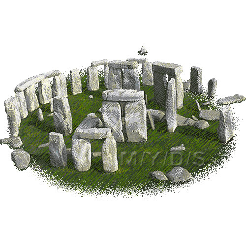 Stonehenge clipart / Free clip art.