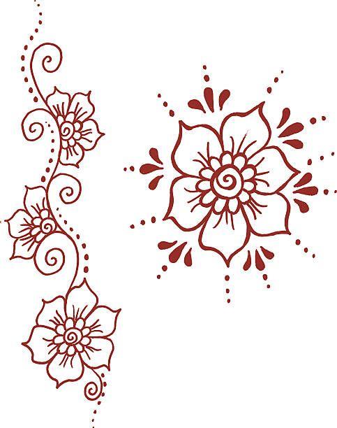Simple clipart henna #13.