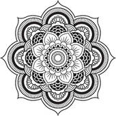 Henna clipart #8