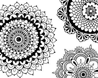 Clipart henna.