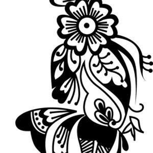 Henna Clip Art Download 8 clip arts (Page 1).