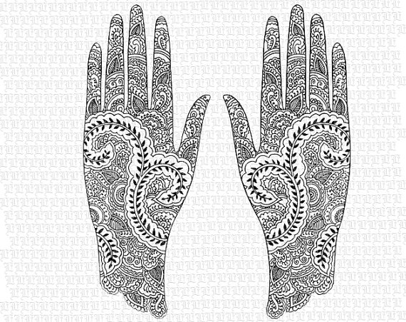 Free Henna Cliparts, Download Free Clip Art, Free Clip Art.