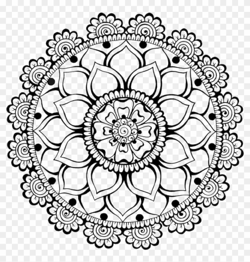 Henna Art Mehndi Free Png Hq Clipart.