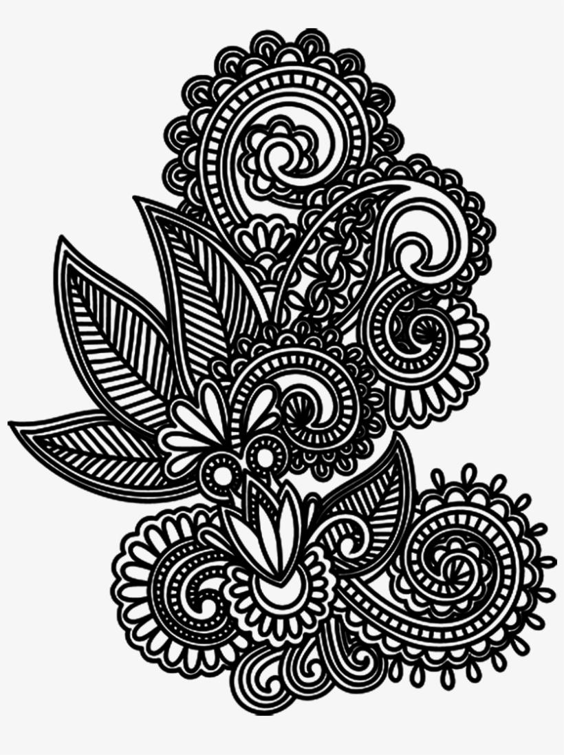 Drawing Tattoo Mehndi.