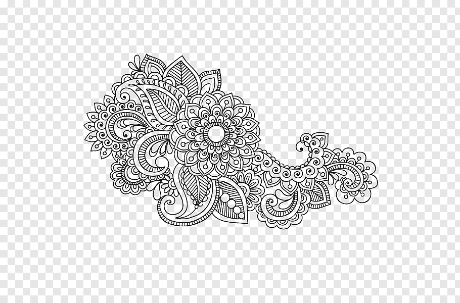Motif, Mehndi, Henna, Tattoo, Tattoo Clip Art, Drawing, Hand.