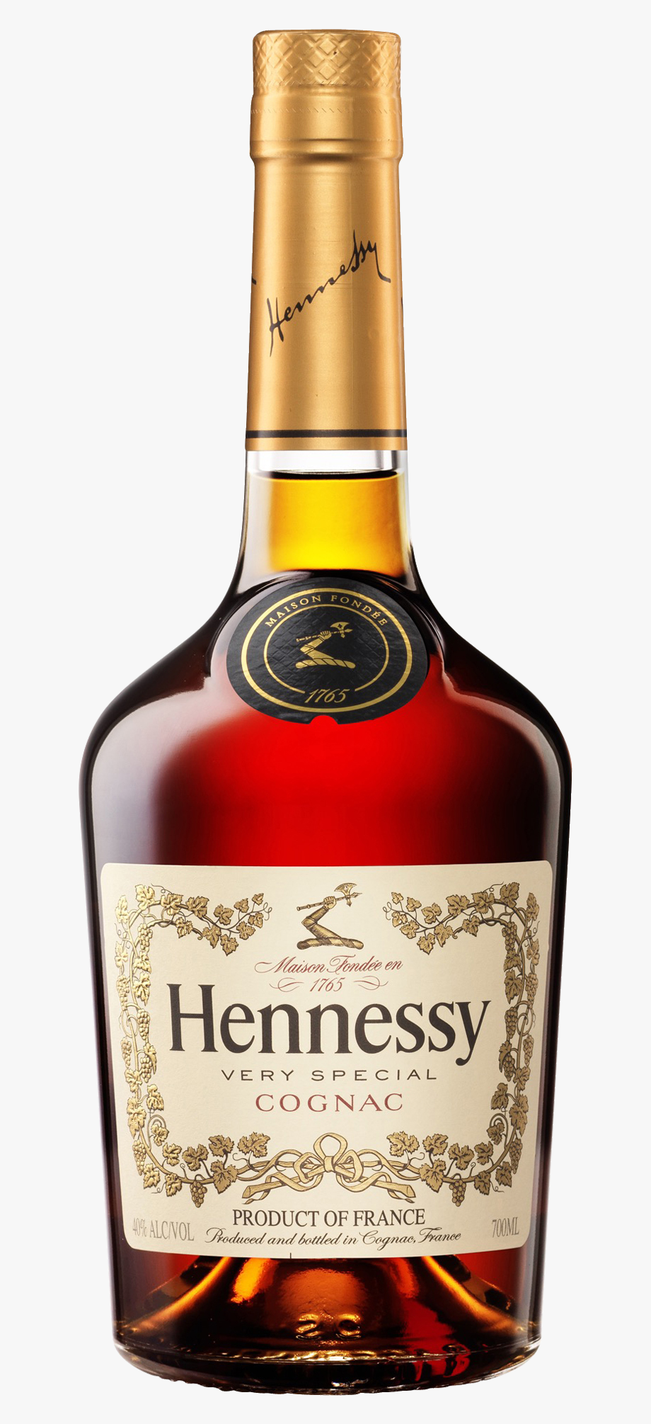 Hennessy Bottle Png.