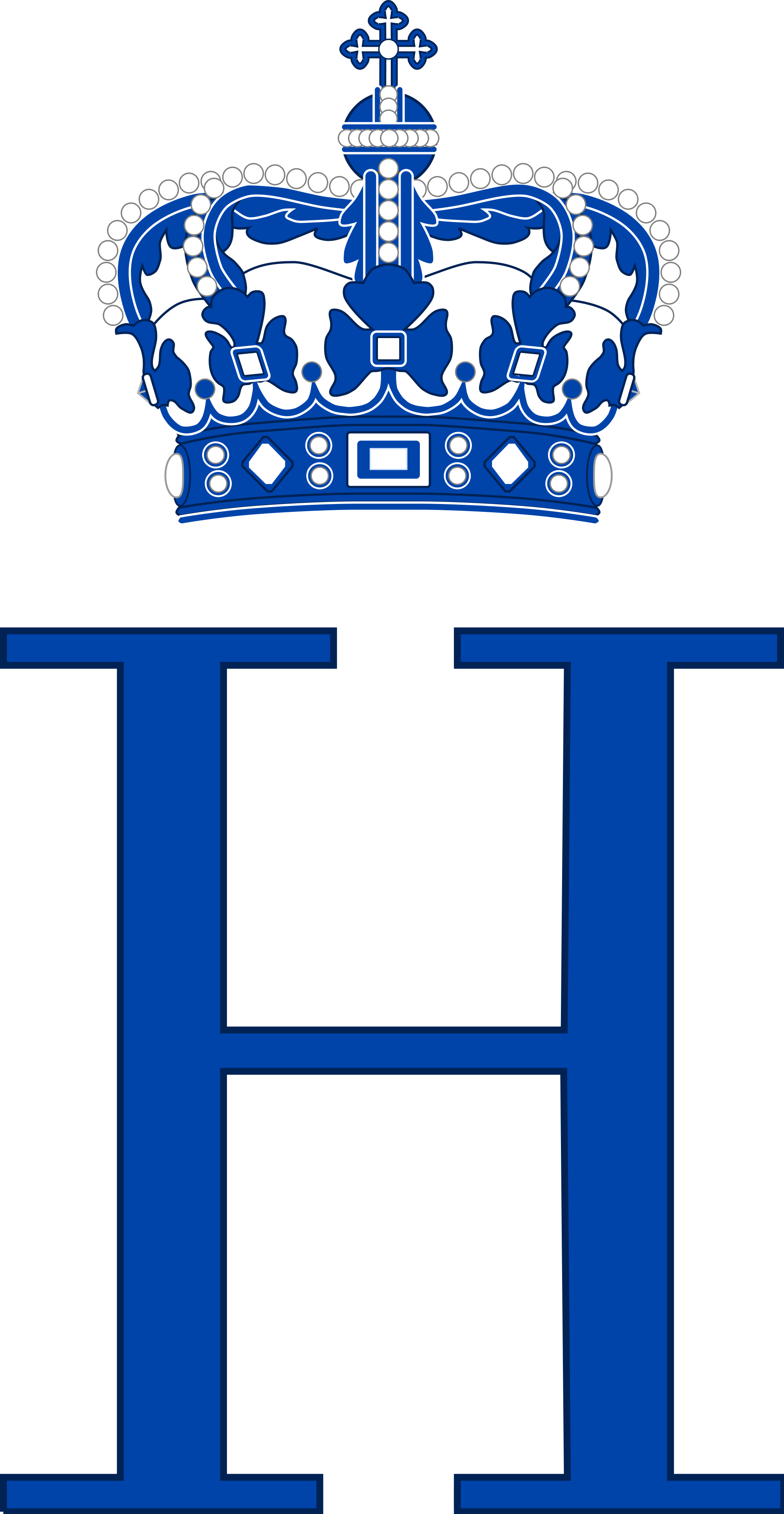 File:Royal Monogram of Prince Henrik of Denmark.svg.