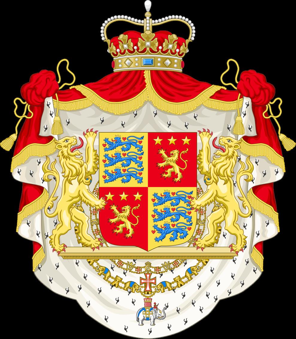 File:Coat of arms of Henrik, Prince Consort of Denmark.svg.