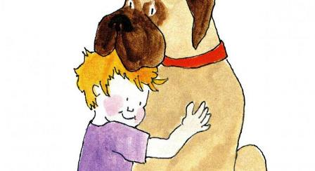 Henry And Mudge Clipart 14.