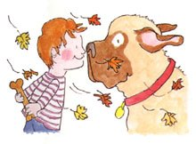Henry and mudge clipart 1 » Clipart Portal.
