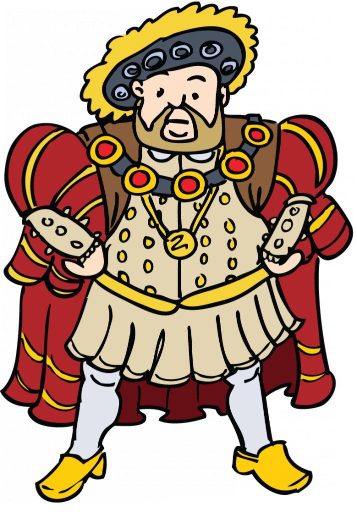 Henry 8th clipart.