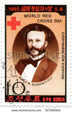 Henry Dunant Stock Photos, Royalty.