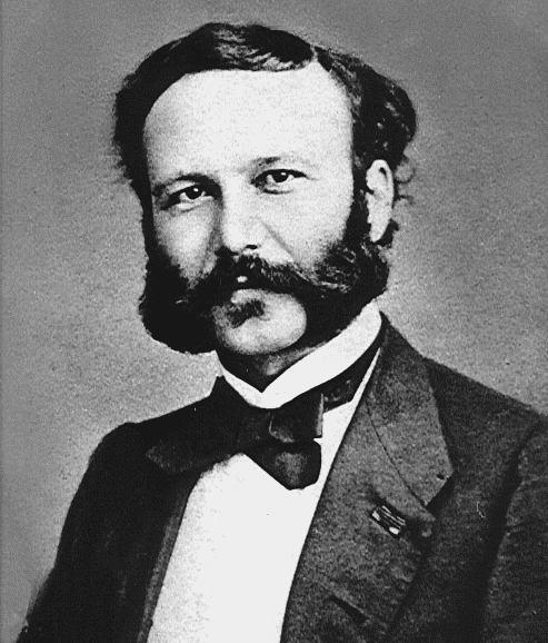 Henry Dunant young.