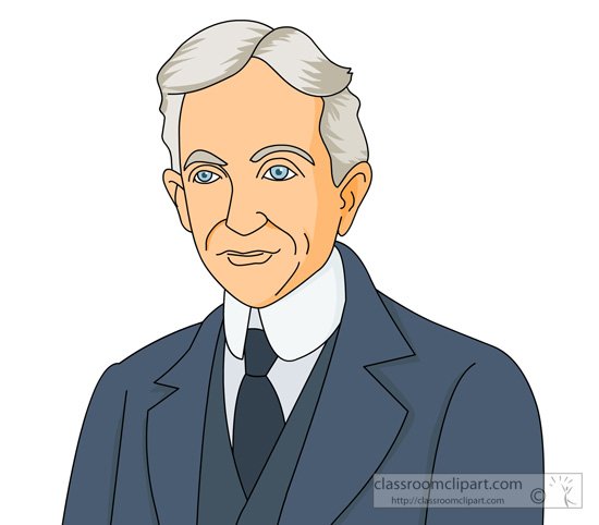 Henry ford clipart.