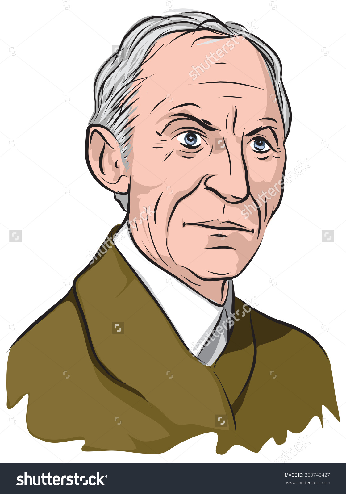 Henry Ford Stock Vector 250743427.