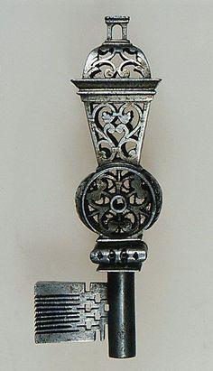 A Russian chamberlain key from the reign of Tsar Alexander III.