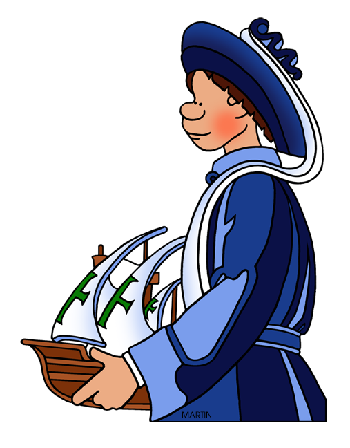 Free Explorers Clip Art by Phillip Martin, Prince Henry the Navigator.