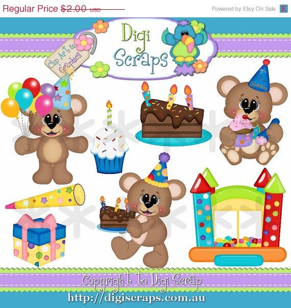 1000+ images about Birthday clipart on Pinterest.