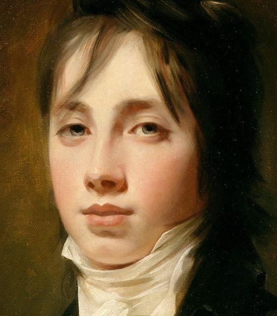 """detail from """"William Fraser of Reelig"""" by Sir Henry Raeburn."""