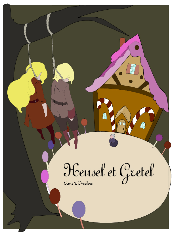 Hensel and Gretel Illustration by MDefour on DeviantArt.