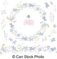 Hepatica nobilis Clipart Vector and Illustration. 6 Hepatica.