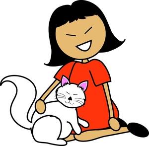 Pet Cat Clipart.