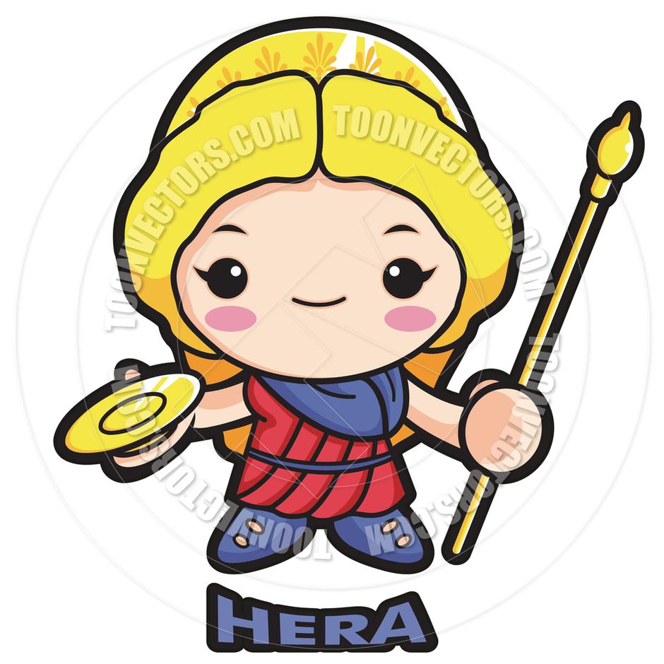 Hera Cartoon.