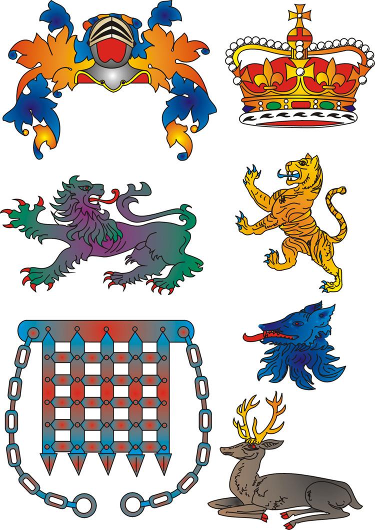 heraldry clipart.