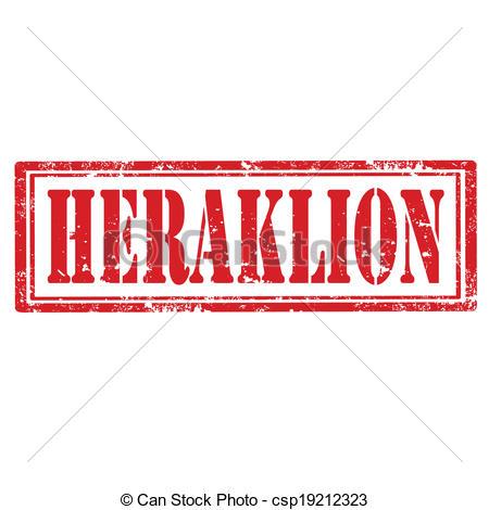 Vector Illustration of Heraklion.