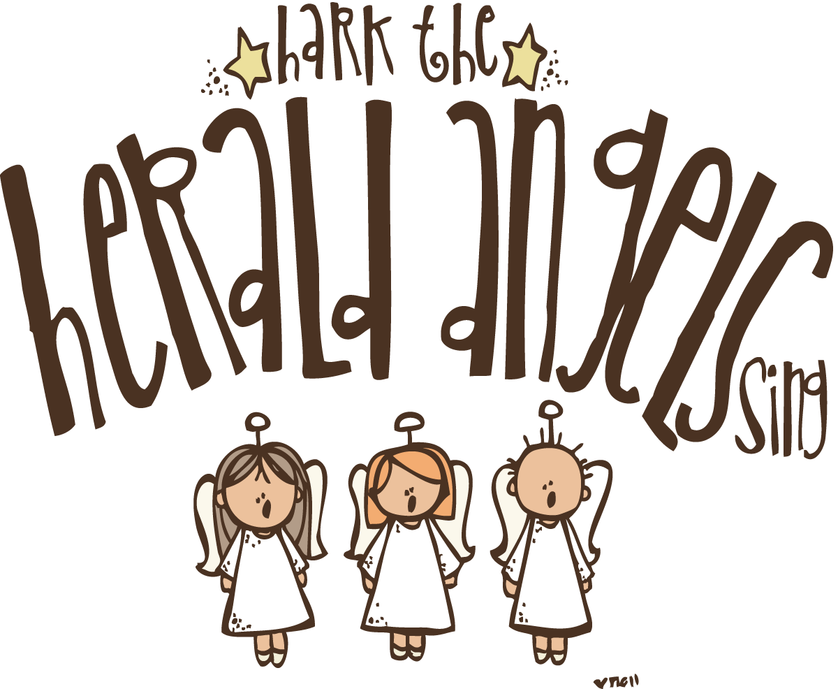 Clipart angel hark the herald angels sing, Clipart angel.