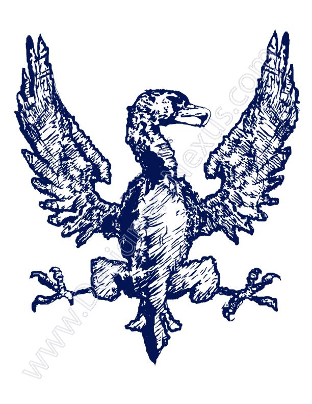 V16 Free Heraldry Symbol Graphic Eagle Clip Art.