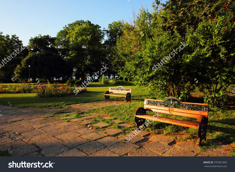 Herastrau Park In Bucharest, Romania, Europe Stock Photo 107061695.