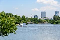 Herastrau Park, Lake Editorial Photography.