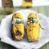 Picture of Grilled Corn on the Cob with Herb Butter 636127.