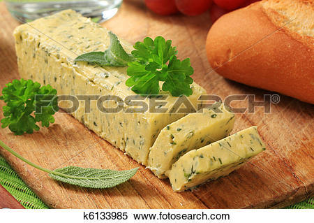 Stock Image of Herb butter k6133985.