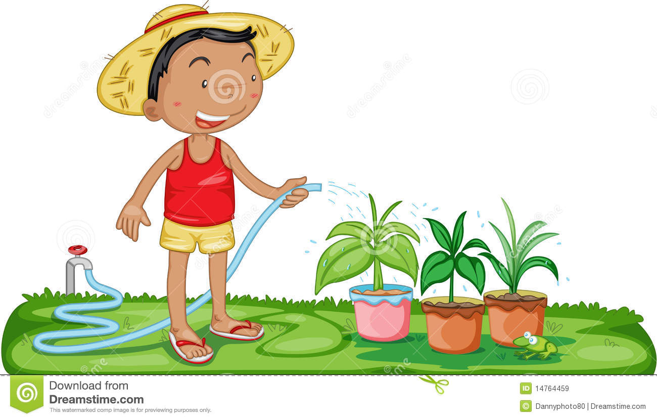 Water plants clipart.