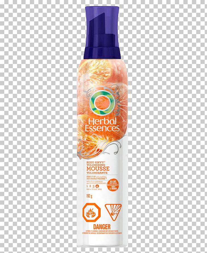Lotion Hair mousse Herbal Essences Body Envy Volumizing.
