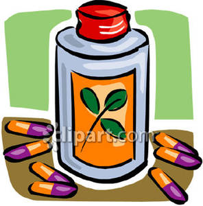 Herbal Remedies Clip Art.