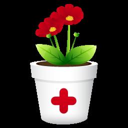 Medicinal plants clipart.