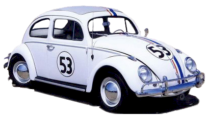 Herbie the Love Bug Clipart.
