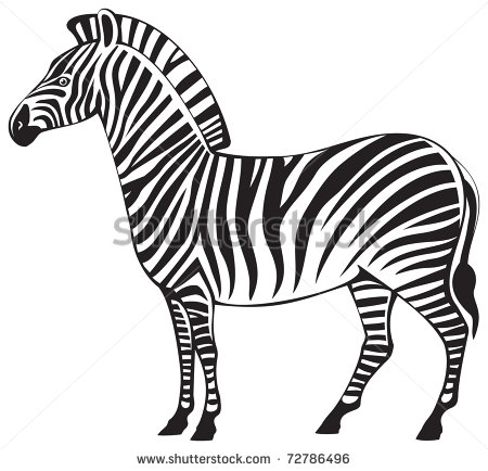 Clip Art of Herbivorous Animals.