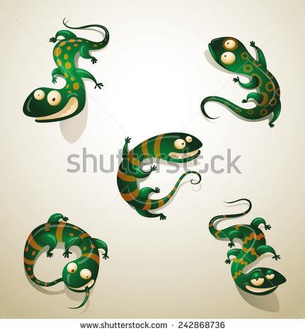 Scaly Lizard Stock Photos, Royalty.