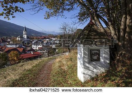 Stock Image of Bildstock am Weg zur Kalvarienkapelle.