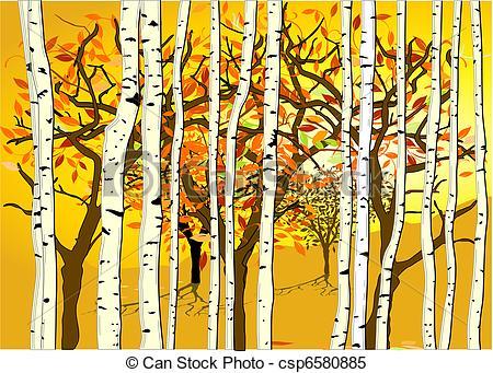 Clipart Vektor von Herbst, Stimmung csp6580885.