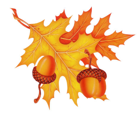 September Herbst Clipart.