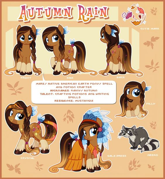 Autumn Rain Reference Guide by Centchi.deviantart.com on.
