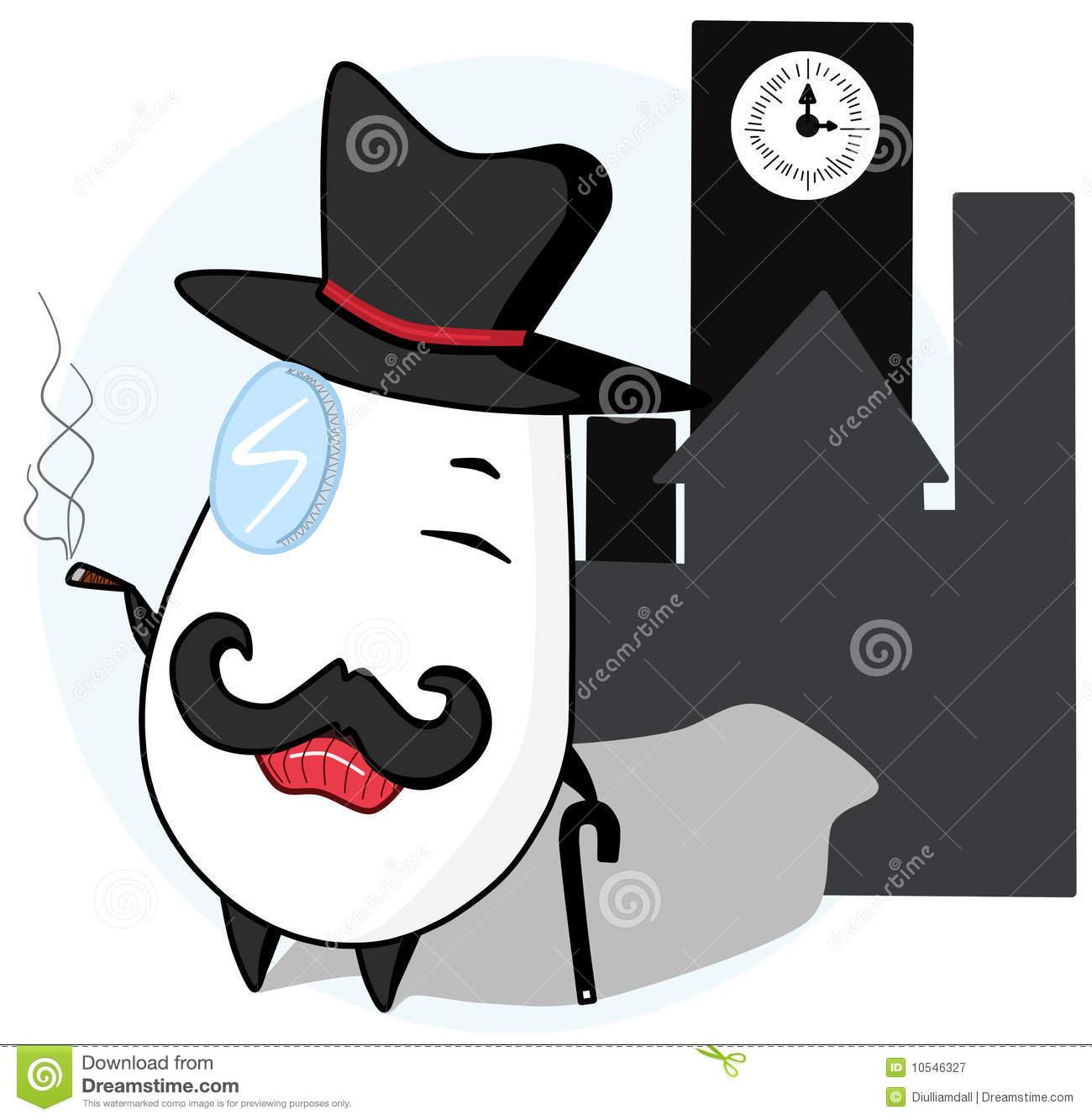 Poirot Stock Illustrations.